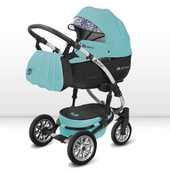 babyactive shell eko 13 3 in 1 combi kinderwagen. Black Bedroom Furniture Sets. Home Design Ideas