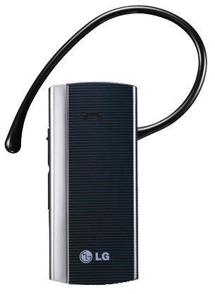 LG HBM 210 Bluetooth Headset Inclusief Mini/Micro USB Auto Oplader
