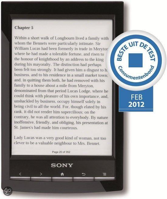 Sony Reader Wi-Fi PRS-T1 - Zwart