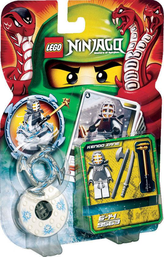 LEGO Ninjago Kendo Zane - 9563