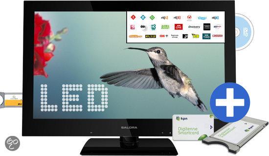 Salora 22LED1205TD - LED TV-/Dvd-combo - 22 inch - Full HD