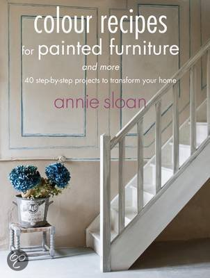 Annie Sloan boeken te koop Colour Recipes for Painted Furniture and More