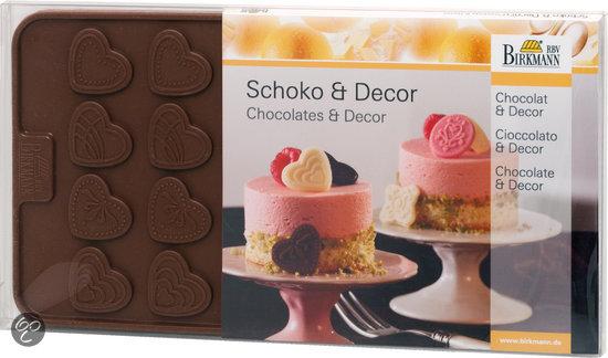 Birkmann Chocoladevorm - Hartjes en Patronen