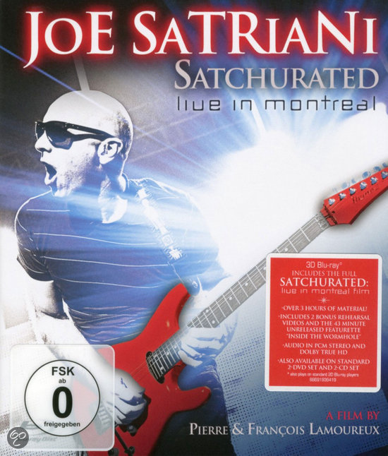 Joe Satriani - Satchurated: Live In Montreal (3D Blu-ray)