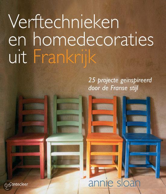 Annie sloan boeken te koop Verftechnieken En Homedecoraties Uit Frankrijk