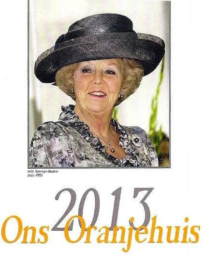 Ons Oranjehuis  / 2013