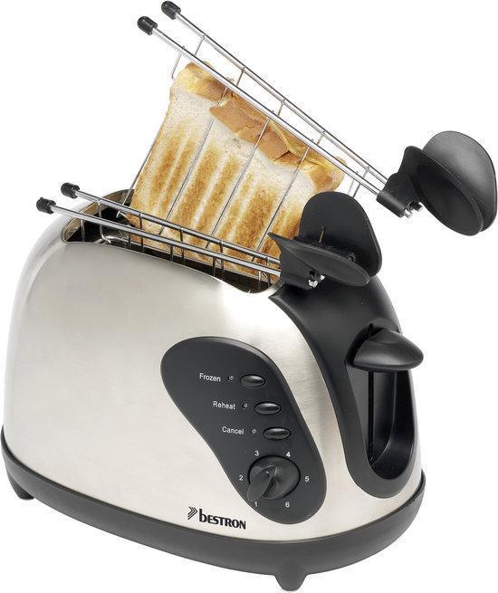 Broodrooster en tosti ijzer in 1