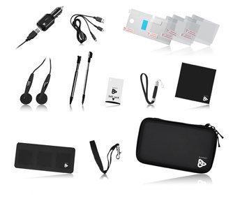 Playfect 14-in-1 Reiskit Zwart 3DS + Dsi