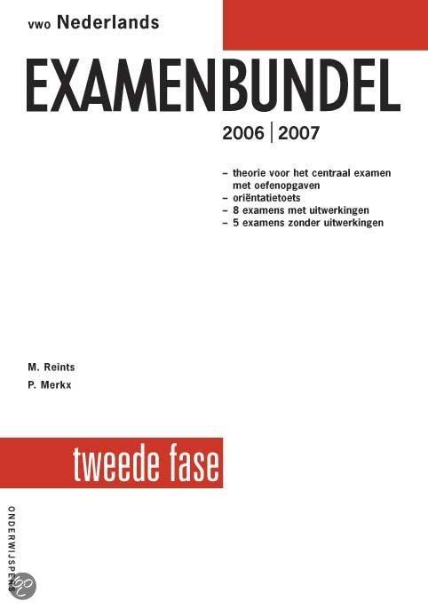 Vwo Nederlands Examenbundel 2E Fase