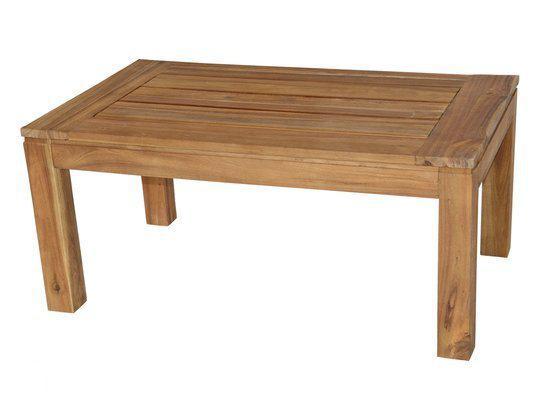 tuintafel houten salontafel tuinmeubel