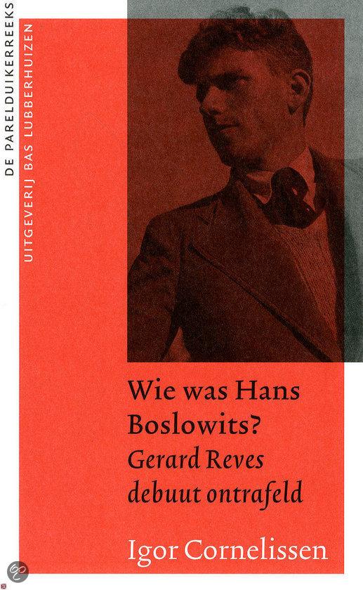 Wie was Hans Boslowits?