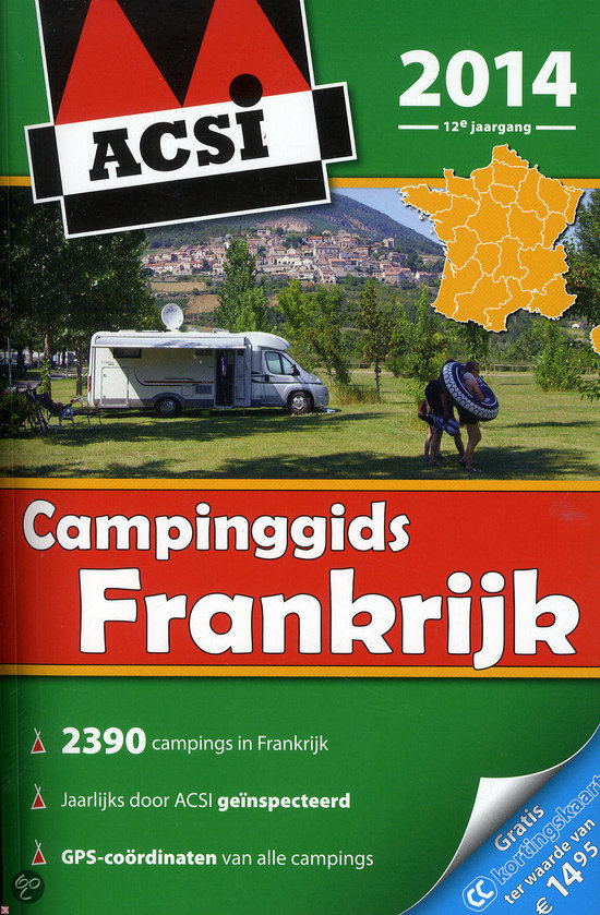 ACSI Campinggids Frankrijk / 2014