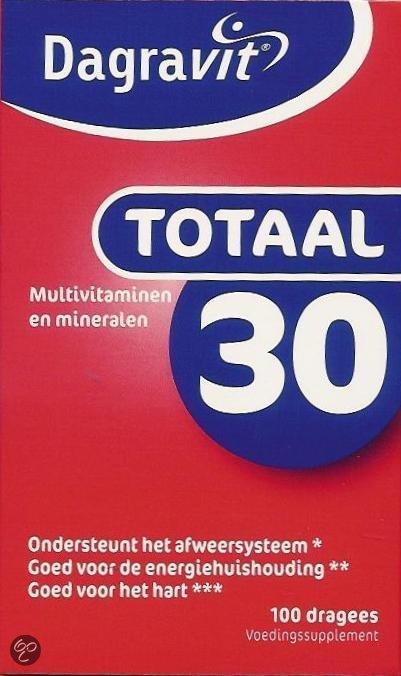 Dagravit Totaal 30 - 200 Tabletten - Multivitamine