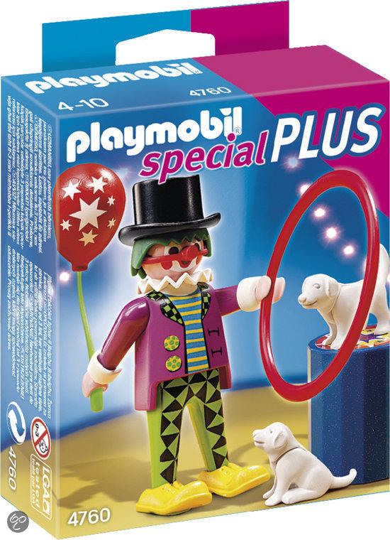 Playmobil Clown met Hondenshow - 4760