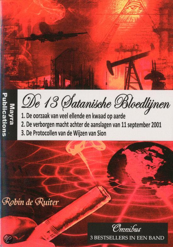 De 13 Satanische Bloedlijnen / deel OMNIBUS 3 boeken in een band