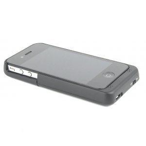 Apple iPhone 4/4s Power case Zwart