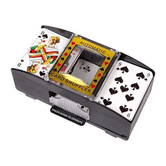 Afbeelding van het spel Speelkaarten schudmachine op batterijen