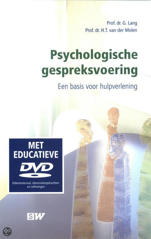 Psychologische gespreksvoering + DVD