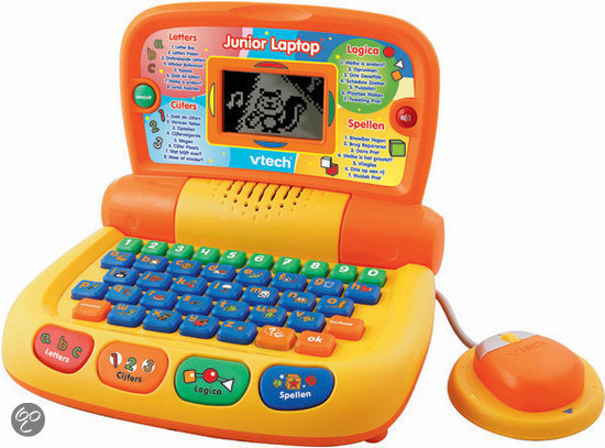 VTech Leercomputers - Junior Laptop