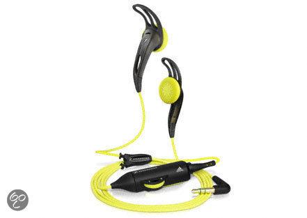 Sennheiser MX 680 Adidas Sport - In-ear koptelefoon - Geel