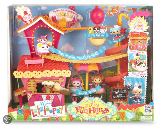 Mini Lalaloopsy Silly Fun House
