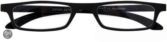 I Need You - The Frame Company Contactlenzen Leesbril ZIPPER zwart +1.50 dpt
