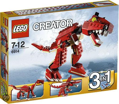 LEGO Creator Prehistorische Jagers - 6914