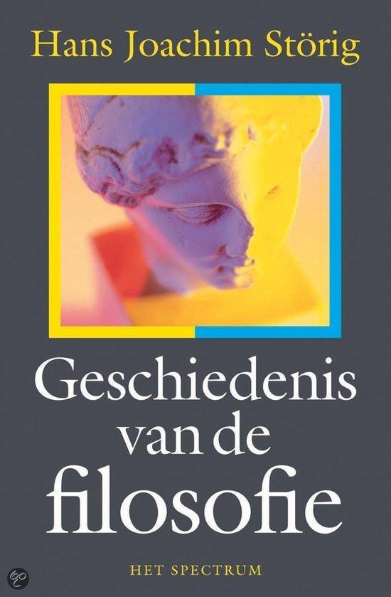 Geschiedenis Van De Filosofie