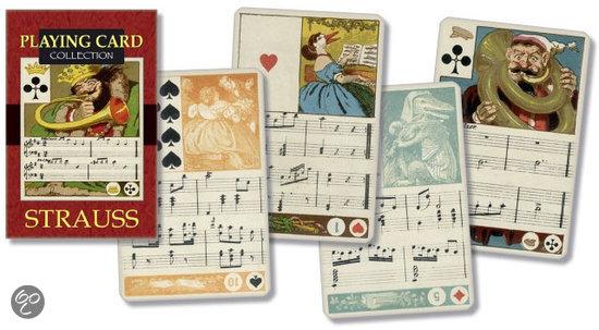 Thumbnail van een extra afbeelding van het spel Strauss Speelkaarten