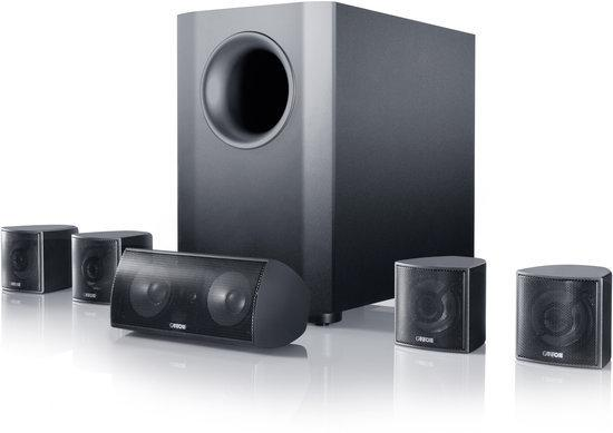 Canton Movie 70 - 5.1 Speakerset - 6 stuks - Zwart