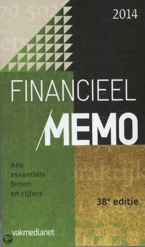 Financieel memo / 2014