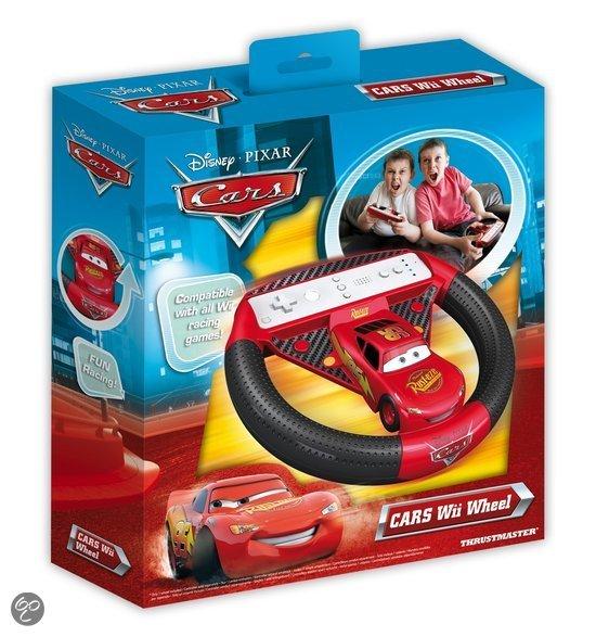 Thrustmaster Cars Stuurwiel Rood Wii