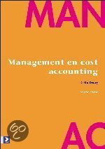 Management en cost accounting + CD-ROM