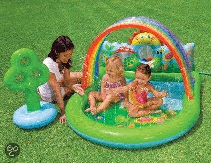 Baby zwembad boerderij for Intex zwembad baby