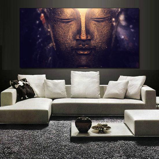 Svejo living canvas boeddha - Trend schilderij slaapkamer ...
