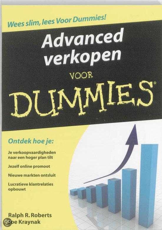 Advanced verkopen voor Dummies (eBook)