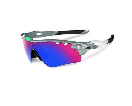 Oakley Radarlock - Zonnebril - Fog - Positive Red Iridium   Black Iridium c3233aed51
