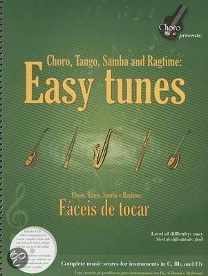 Easy Tunes - Choro, Tango, Samba and Ragtime Book/CD Set