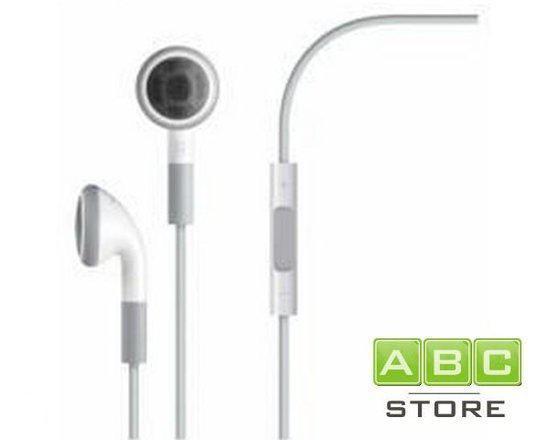 iPhone 3GS, 4 & 4S headset met volumeknop
