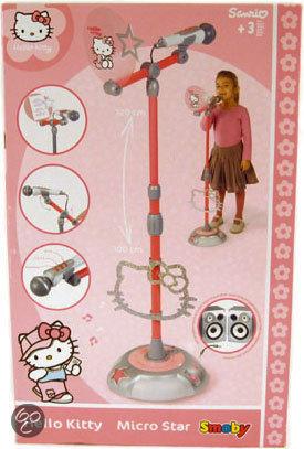 Hello Kitty Microfoon Op Standaard
