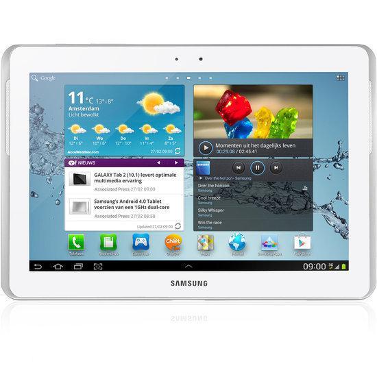 Samsung Galaxy Tab 2 10.1 (P5110) - WiFi - 16GB - Wit