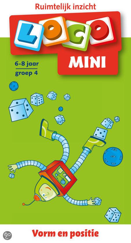 Mini Loco / 6-8 jaar / deel Ruimtelijk inzicht
