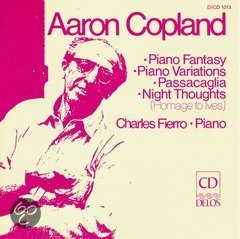 Copland: Piano Fantasy, Variations, etc / Charles Fierro