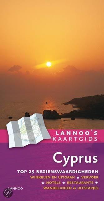 Lannoo's kaartgids Cyprus + plattegrond