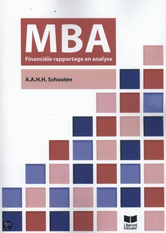 MBA financiele rapportage & analyse