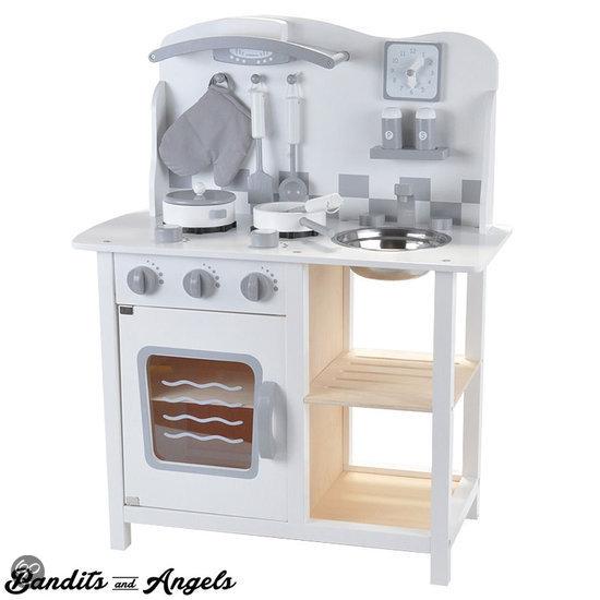 Houten Speelgoed Keuken Zelf Maken : bol.com Houten kinderkeuken Chef Deluxe white Speelgoed