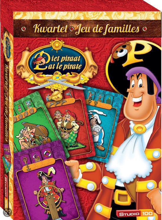 Afbeelding van het spel Piet Piraat Kwartet - Kinderspel