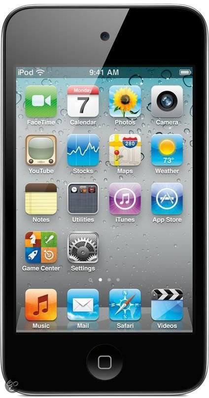 Apple iPod Touch - 8 GB - Zwart