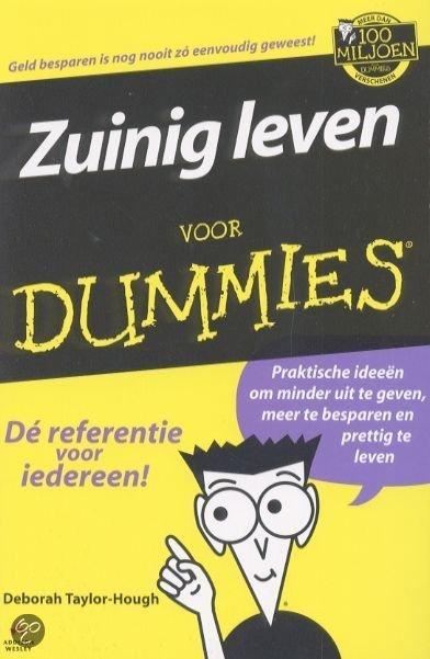 Zuinig Leven Voor Dummies