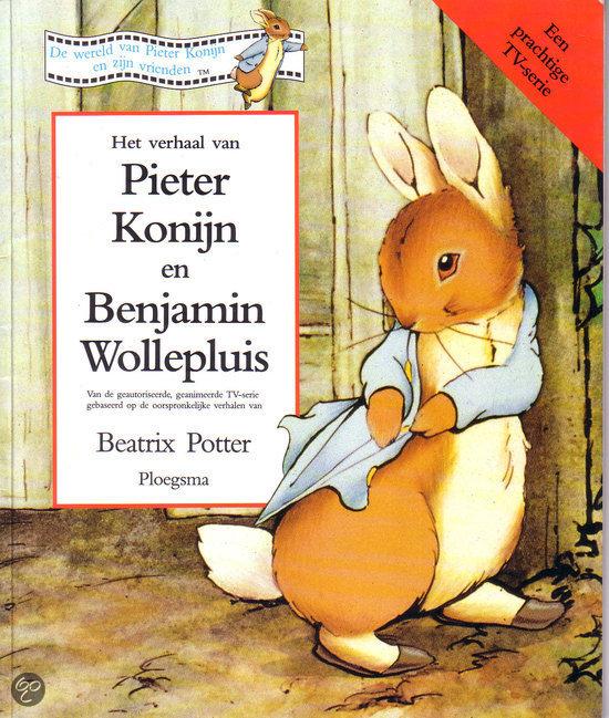 Het verhaal van Pieter Konijn en Benjamin Wollepluis